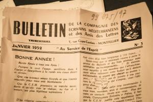 Bulletin de la Compagnie des Ecrivains Méditerranéens