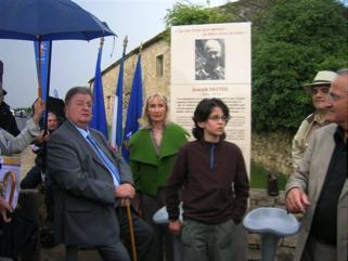 Inauguration du totem de la Tuilerie de Massane  3 avril 2009
