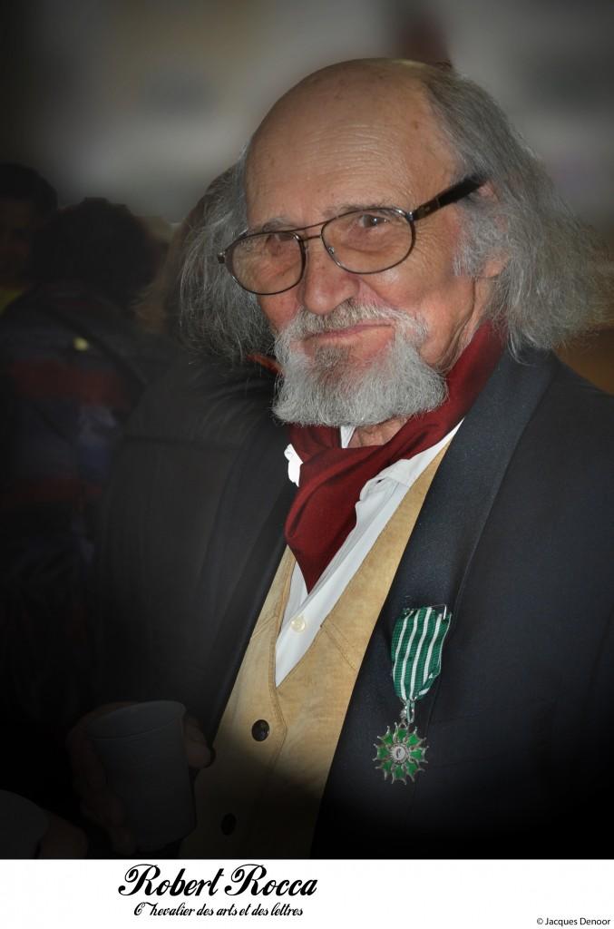 Robert Rocca Président d'honneur de la Revue Souffles - Chevalier des Arts et des Lettres