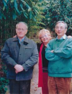 Gaston Marty, Jannik Rouger-du-Teil et Yannick Girouard à la Villa Louise, 45 rue Léon Blum à Cournonterral