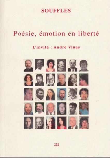 Couverture d'un numéro de la Revue Souffles (en première photo: Jean-Pierre Védrines)