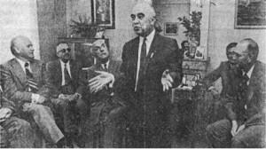 M. Robert Marty, président fondateur de l'association