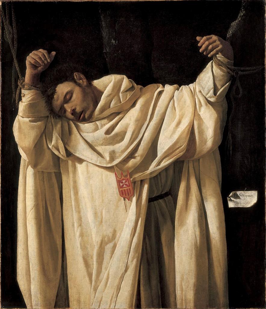 Saint Sérapion - 1628 - Francisco de Zurbaran