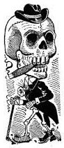 Jose Guadalupe Posada - Pancho Villa